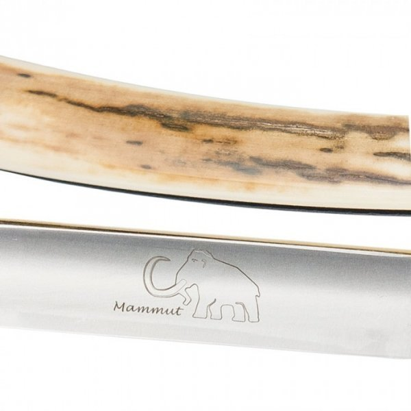 Rasiermesser DOVO Solingen 110 5861 N - rechter Mammutstoßzahn 3