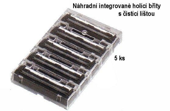 Integrierte Ersatzklingen mit MERKUR-Reinigungsstange