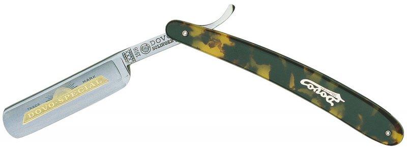 Rasiermesser DOVO Solingen 1516 580 N - Schildkrötenpanzerimitat