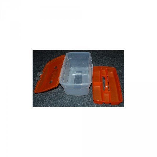 Kunststoffbox mit Einsatz - größer 1