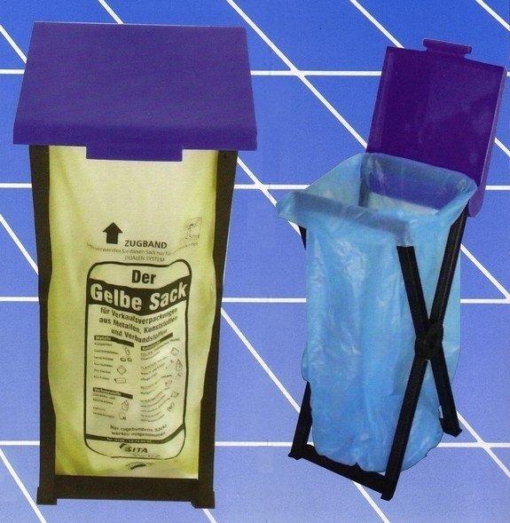 Klappbarer Kunststoffständer RIVAL 560 000 für Müllsäcke 1