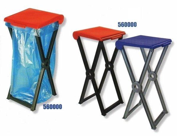 Klappbarer Kunststoffständer RIVAL 560 000 für Müllsäcke 2