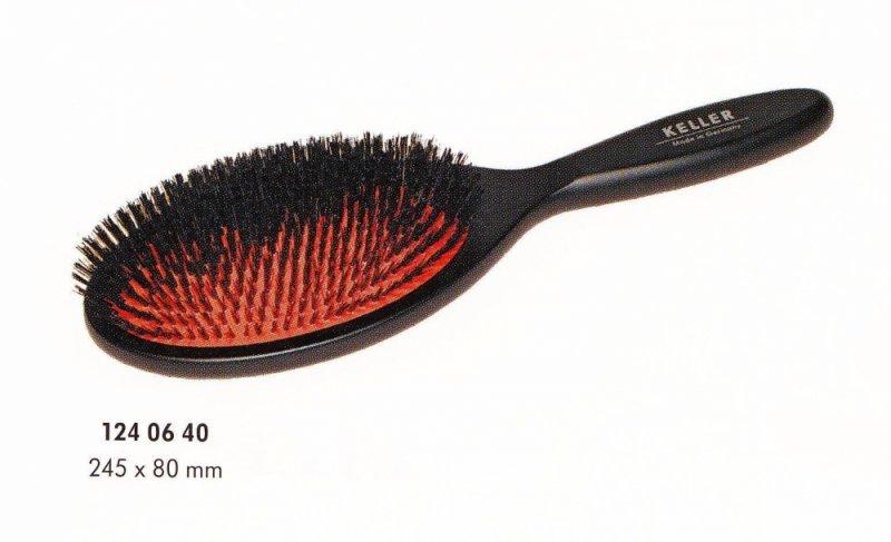 Haarbürste KELLER - EXKLUSIV 124 06 40