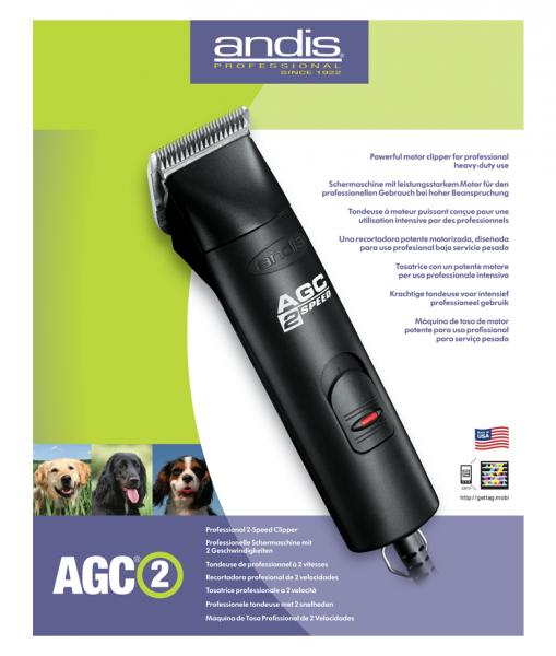 Andis - AGC 2 Geschwindigkeit 2