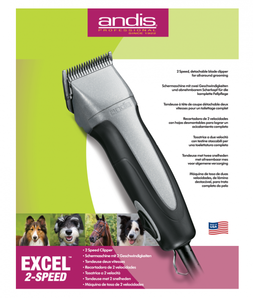 Andis Excel 2-Speed 1