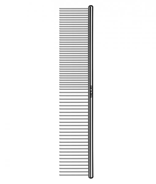 Andis Metallkamm für Fell - einseitig - 18 cm