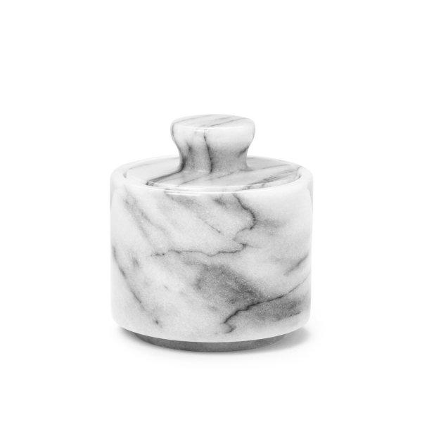 Rasierschale aus weißem Marmor