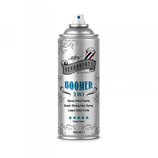 Beardburys Boomer 2in1 Fixierhaarspray 400 ml.