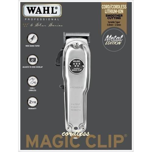 WAHL Cordless Magic Clip Metall Edition 1