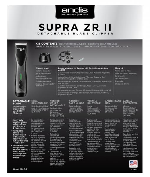 Andis Supra ZR II 6
