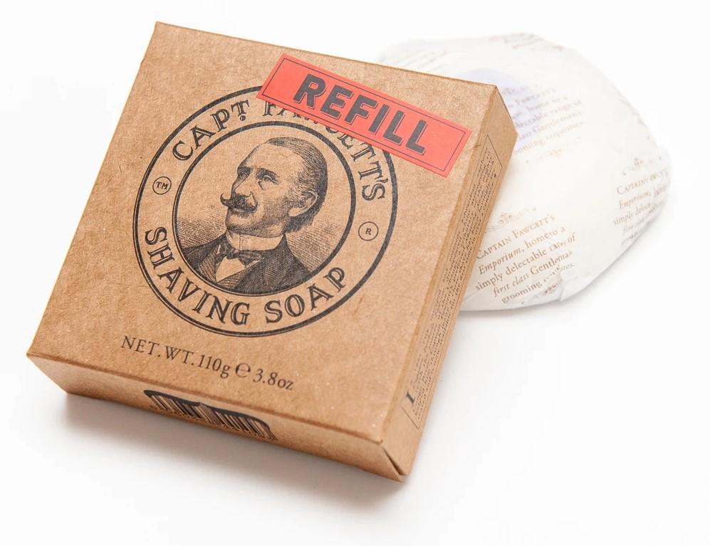 Captain Fawcetts Lieblingsrasierseife, deren Rezept zum ersten Mal seit mehr als hundert Jahren erhältlich ist.