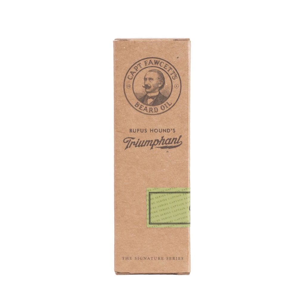 Reisepaket Luxusöl Captain Fawcett 10 ml. Rufus Hound