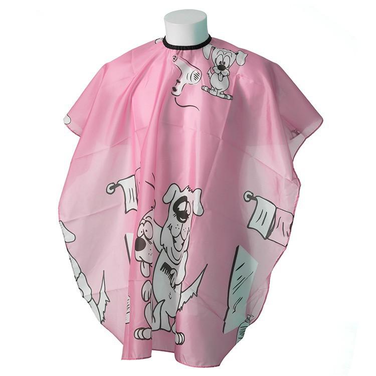 """Kinderfriseur Regenmantel """"Dogy Pink"""""""
