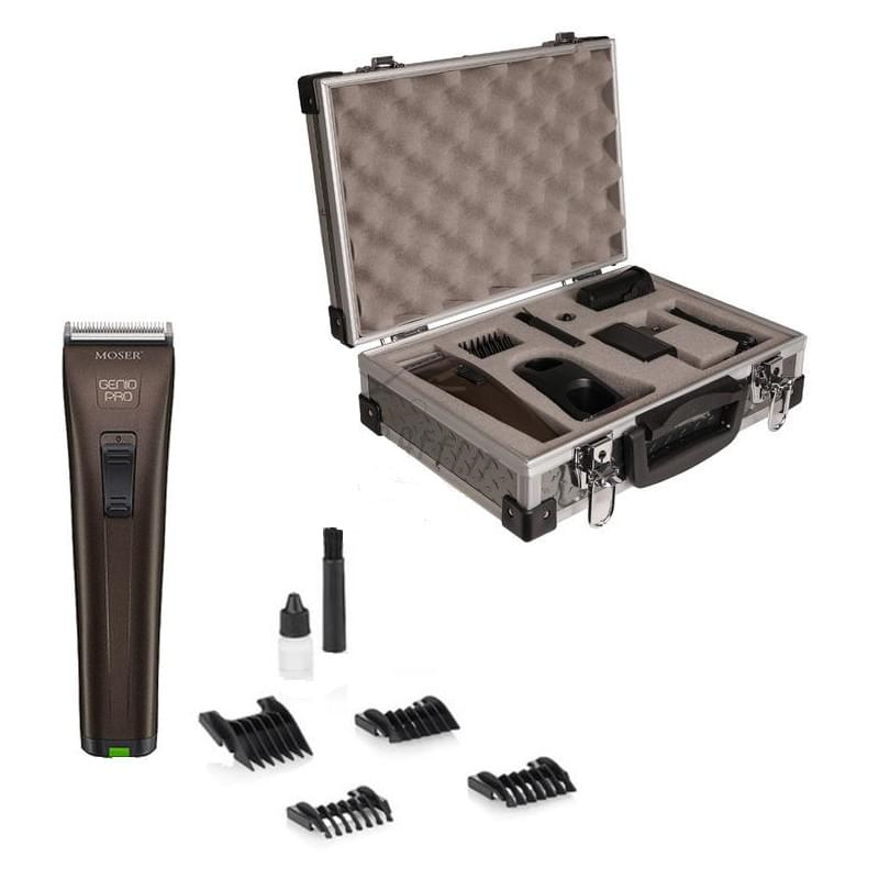MOSER Genio Pro + pevný kufr 1