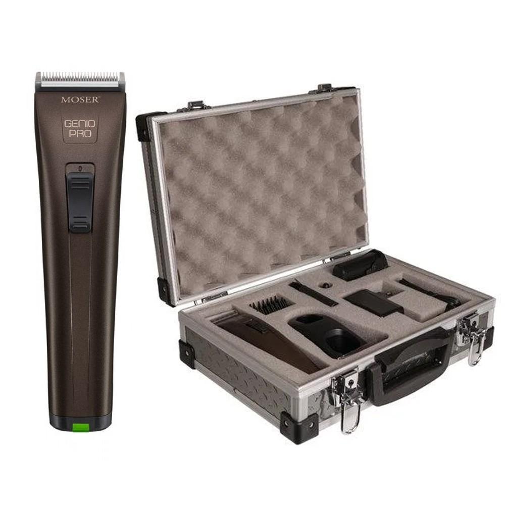MOSER Genio Pro + pevný kufr